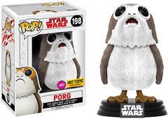 Star Wars Floked Porg Hot Topic Exclusive Pop Vinyl Figure