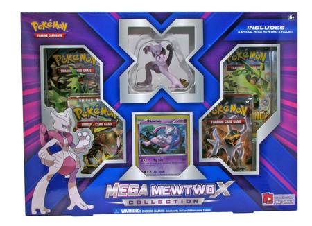 Pokemon Mega Mewtwo X Collection Box