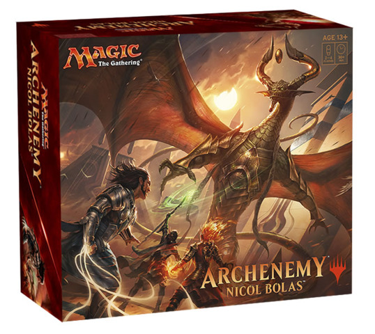 Magic the Gathering Archenemy Nicol Bolas