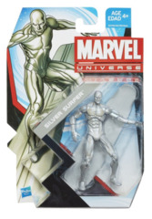 Marvel Universe Series 1 Action Figure #003 Silver Surfer 3.75 Inch