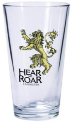 Game of Thrones Dark Horse Pint Glass House Lannister