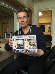 Spike Pop Vinyl Signed by James Marsters Buffy the Vampire Slayer