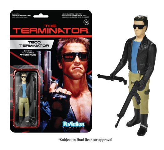 Terminator T-800 Funko ReAction Figure