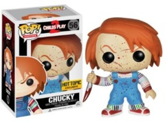 Bride of Chucky Bloody Hot Topic Exclusive Pop Vinyl Figure