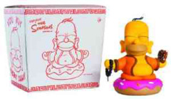 "Kidrobot The Simpsons 7"" Buddah Homer"