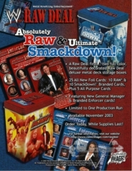 Absolutely RAW and Ultimate SmackDown! Sales Sheet