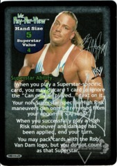 Mr. Pay-Per-View Superstar Card - Signed by Rob Van Dam