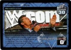 Armageddon WWF Style