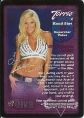Torrie Wilson Superstar Card
