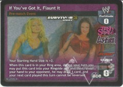 If You've Got It, Flaunt It - SS3