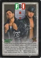 FBI Superstar Card
