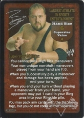 The Largest Athlete in Sports Entertainment Superstar Card