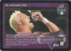 Mr. Kennedy's Mic