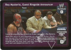 Rey Mysterio, Guest Ringside Announcer