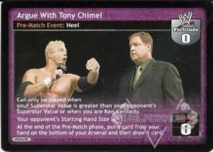 Argue With Tony Chimel