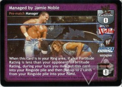 Managed by Jamie Noble