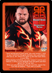 Bam Bam Bigelow Superstar Card
