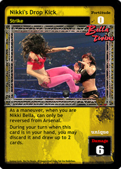 Nikki's Drop Kick