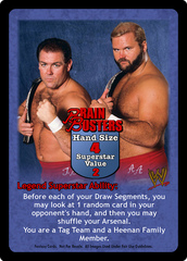 Brain Busters Superstar Card