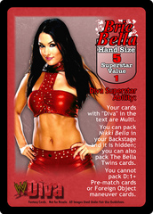 Brie Bella Superstar Card