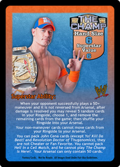 The Champ Superstar Card