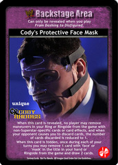 Cody's Protective Face Mask
