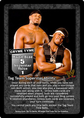 Cryme Tyme Superstar Card