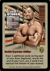 David Otunga Superstar Card - VSS