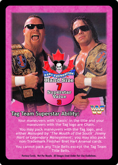 Hart Foundation Superstar Card