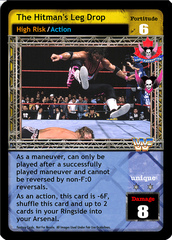 The Hitman's Leg Drop