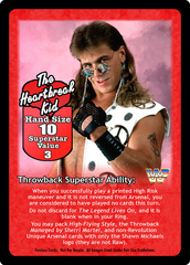 The Heartbreak Kid Superstar Card
