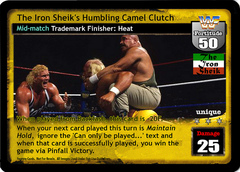 The Iron Shiek's Humbling Camel Clutch