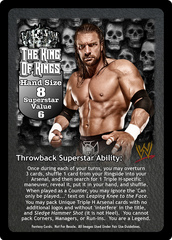The King of Kings Superstar Card