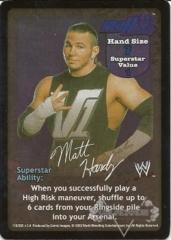 Matt Hardy Superstar Card - SS2
