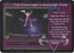 <i>Revolution</i> From Cruiserweight to Heavyweight Champ