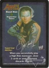 Jeff Hardy Superstar Card - SS2