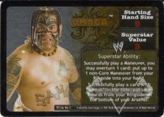 <i>Revolution</i> Umaga Superstar Card