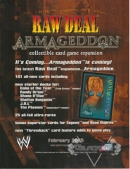 Armageddon Sales Sheet