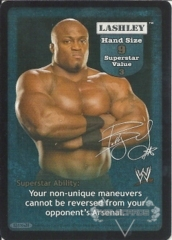 Lashley Superstar Card