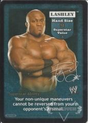 Lashley Superstar Card
