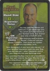 Paul Heyman Superstar Card - SS3