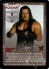 Rhyno Superstar Card