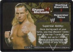 <i>Revolution</i> Shawn Michaels Superstar Card