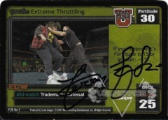 <i>Revolution</i> Extreme Throttling - Signed by Terry Funk