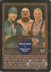 Dangerous Alliance Superstar Card