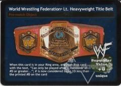 World Wrestling Federation Lt. Heavyweight Title Belt