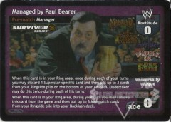Managed by Paul Bearer - SS3