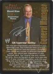 Paul Heyman Superstar Card