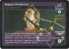 Bagpipe Introduction