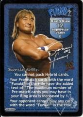 Funaki Superstar Card